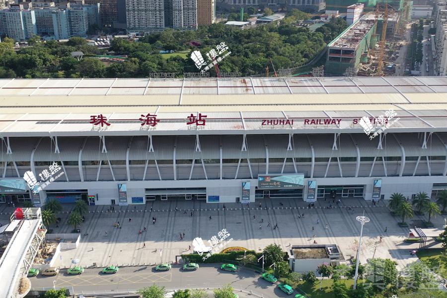 隆福晶都|珠海雙鐵路關口核心地段|即買即住|香港銀行按揭 (實景航拍)