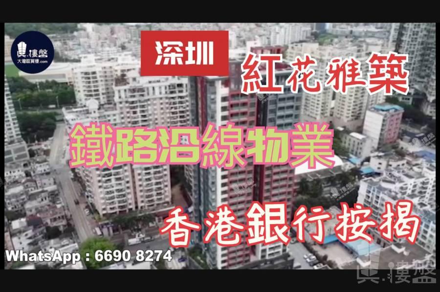 紅花雅築_深圳 鐵路沿線 配套設施齊全 香港銀行按揭 (實景航拍)