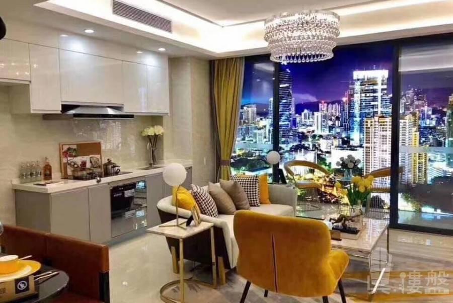 海雅繽紛城_中山|首期10萬|鐵路上蓋優質物業|香港銀行按揭 (實景航拍)