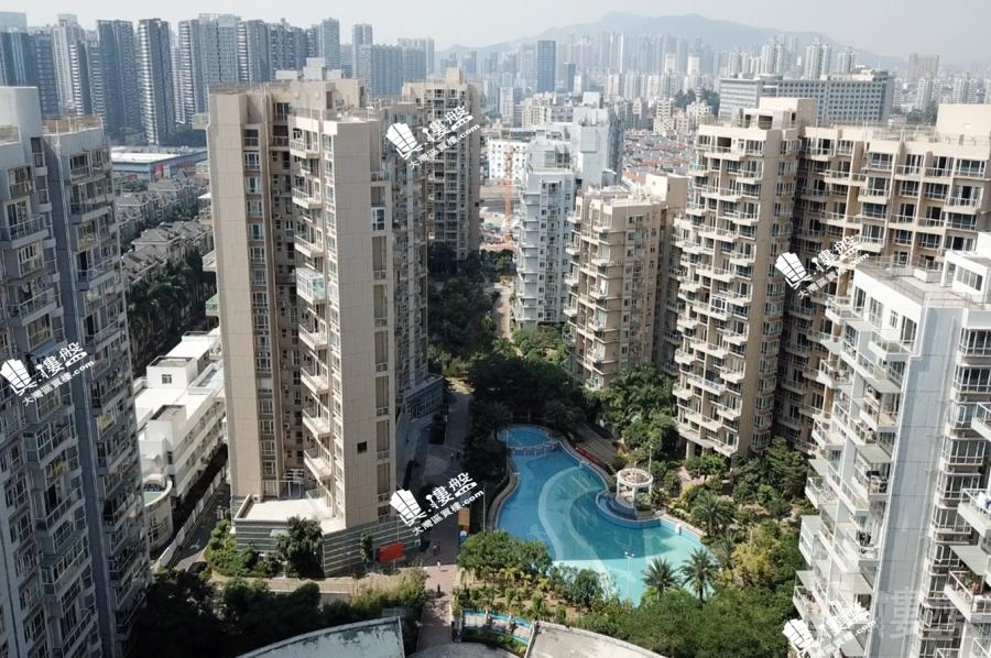 卓能雅苑_深圳 香港高鐵17分鐘直達 低密度住宅 現樓發售 香港銀行按揭 (實景航拍)