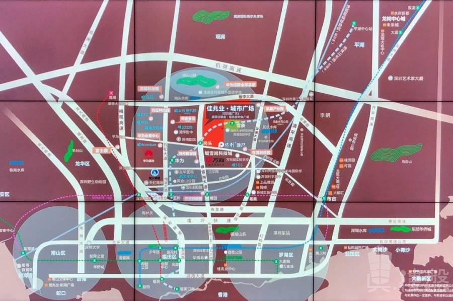 佳兆業城市廣場6期_深圳 三橋兩鐵路一機場與香港深圳一橋之隔