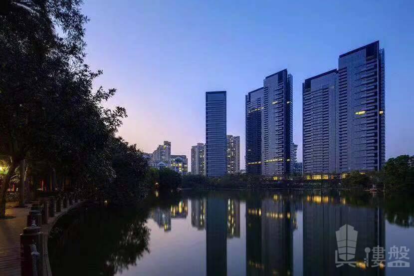 華僑城新天鵝堡_深圳|鐵路沿線與香港一橋之隔核心地段 (實景航拍)