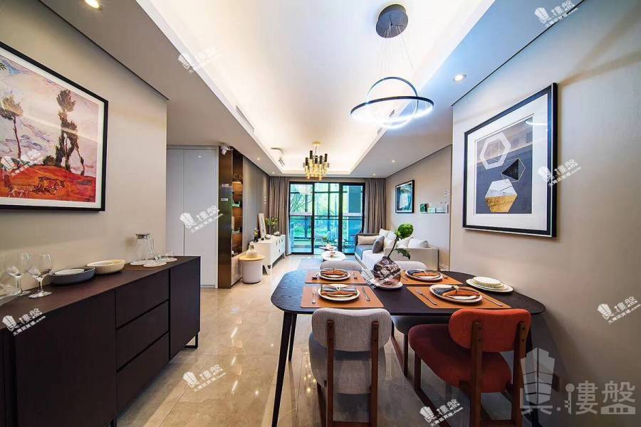 花樣年家天下_深圳|總價250萬|大型商場屋苑|香港銀行按揭 (實景航拍)