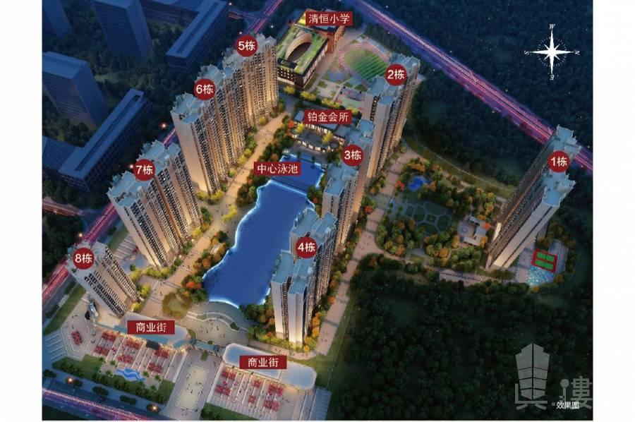 恆大棕櫚島紫荊學府_惠州|總價80萬|買裝修三房|香港銀行按揭