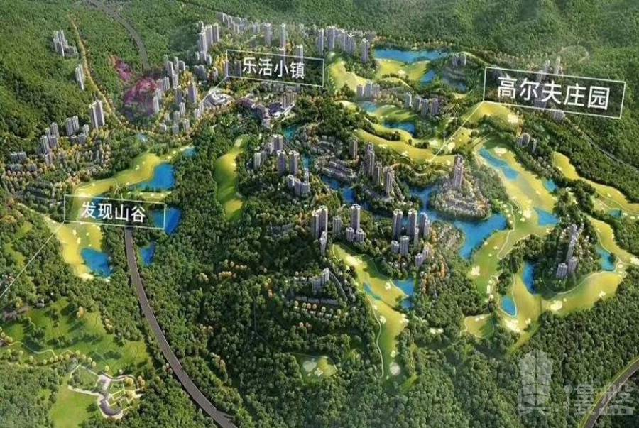 星河山海半島_惠州|中國馬爾代夫|首期16萬|一線高爾夫|湖景|山景精裝