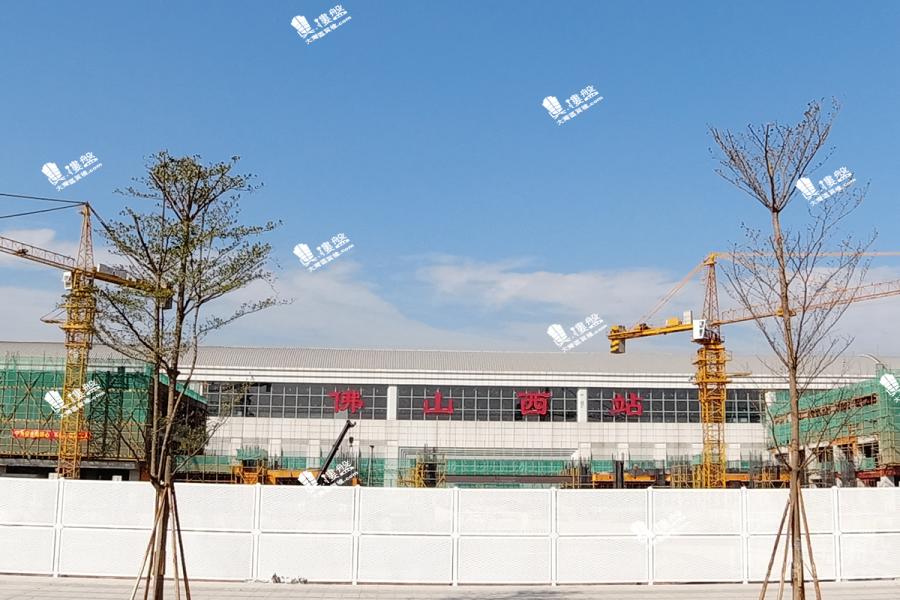 首創禧悅台_佛山 香港高鐵1小時直達 珠三角 經濟圈核心地帶 (實景航拍)
