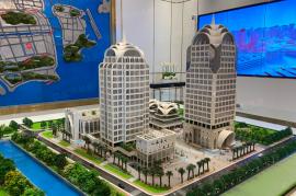 港珠澳供應鏈總部大廈-珠海,195萬一間,橫琴口岸鐵路雙關口核心地段