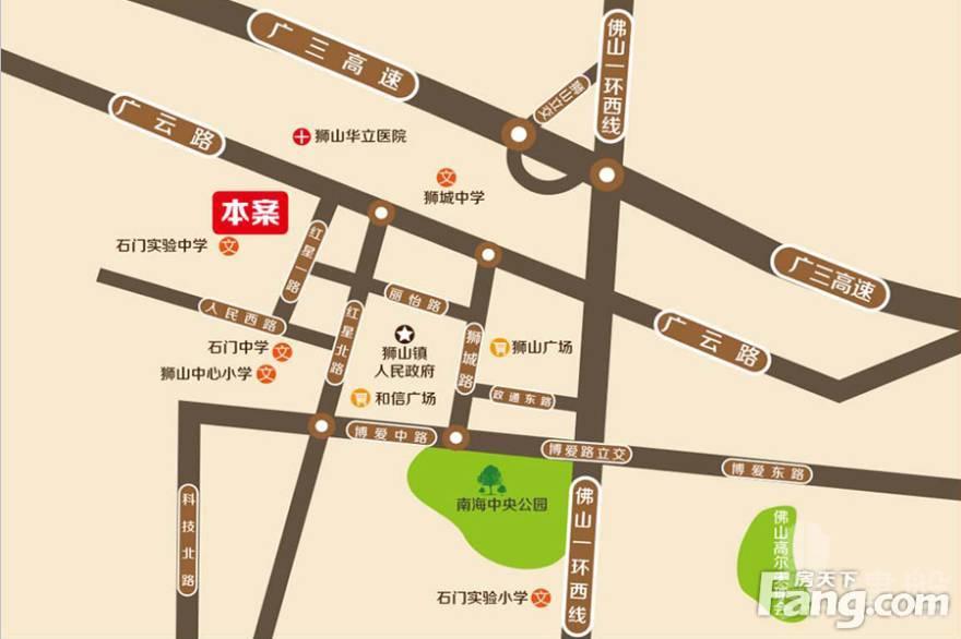 恆福天悅_佛山|首期10萬|鐵路沿線|香港銀行按揭
