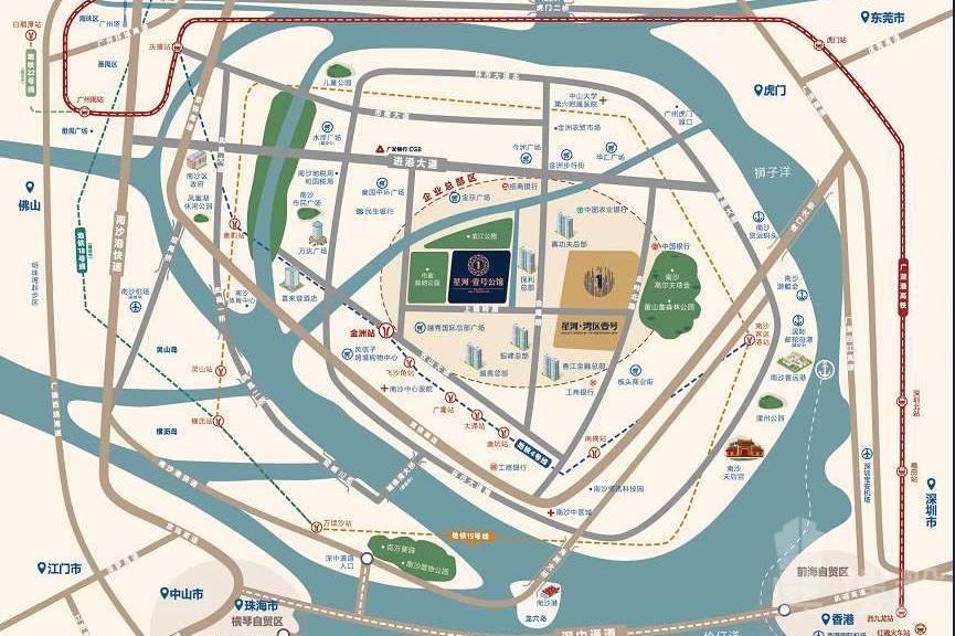星河壹號公館_廣州|南沙自貿區|首萬6萬