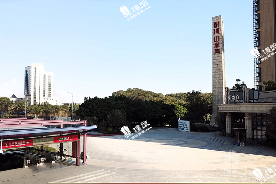 星河山海灣別墅_廣州 香港高鐵1小時直達 背山面海 鐵路沿線優質別墅 (實景航拍)